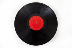 Generic Vinyl Record Album Isolated Royalty Free Stock Photos