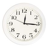 Generic wall clock Royalty Free Stock Photo