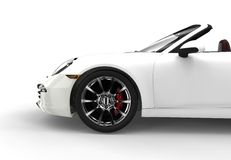 Generic white car Royalty Free Stock Photography