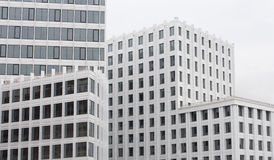 Generic white office building Royalty Free Stock Photo