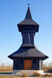 Generic wooden orthodox church Stock Photos