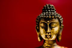 Generic zen buddha statue stock photos