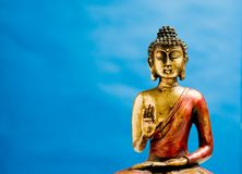 Generic zen buddha statue Royalty Free Stock Photos
