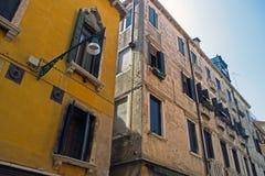 Generische architectuur, Venetië, Italië Stock Foto