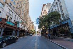 Generische Architektur in San Antonio, Texas lizenzfreies stockbild