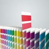 Generische Farbenmuster Stockfoto