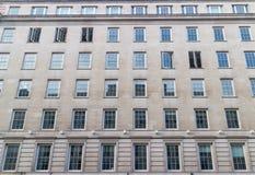 Generische Gebäudefassade Stockfotos