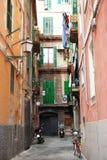 Generische katalanische Straße Stockfotografie