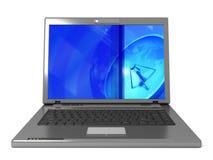 Generische laptop royalty-vrije illustratie