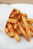 Generische niet gemarkeerde frieten Stock Afbeeldingen