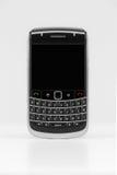 Generische smartphone met het lege scherm. Stock Afbeelding