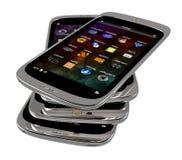 Generische smartphones Lizenzfreies Stockbild