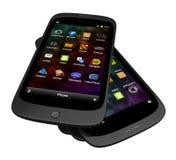 Generische smartphones Stockbild