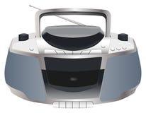 Generische Stereo-installatie Boombox Stock Foto's