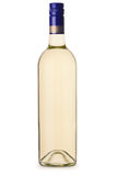 Generische Weißweinflasche ohne Aufkleber Lizenzfreie Stockfotografie