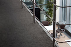 Generischer Büroinnenraum Stockfoto