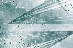 Generischer Grunge futuristischer abstrakter Hintergrund Lizenzfreie Stockbilder