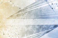 Generischer Grunge futuristischer abstrakter Hintergrund Lizenzfreies Stockfoto