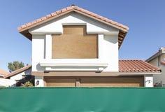 Generischer Haus-Einstieg Lizenzfreies Stockbild