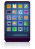 Generischer Tablette PC lizenzfreie abbildung