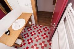 Generisches Badezimmer stockbilder