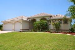 Generisches Florida-Haus Lizenzfreies Stockfoto