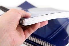 Generisches Handbuch Lizenzfreies Stockbild