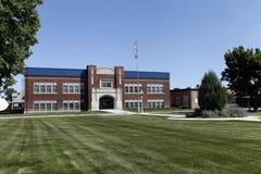 Generisches School-Gebäude Stockfotos
