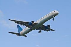 Generisches Verkehrsflugzeug lizenzfreie stockbilder