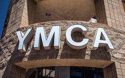Generisches YMCA-Zeichen Stockfotos