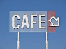 generisk teckentappning för cafe Royaltyfri Bild