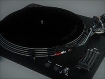 Generisk vinylskivtallrik Arkivbild