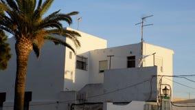 Generiska arkitektur-Conil-Andalusia Royaltyfria Bilder