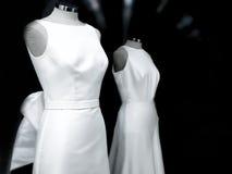 Generiska bröllopsklänningar dvärg Royaltyfria Bilder