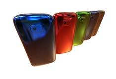 Generiska smartphones Fotografering för Bildbyråer