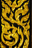 Generiska thailändska Art Sculpture Arkivbild