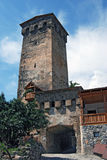Generiska torn i Mestia Royaltyfri Bild