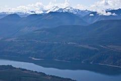 generiskt northwest Stillahavs- landskap Arkivbilder