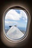 Generiskt singel-stötta för sikt från inre flygplan Royaltyfria Bilder