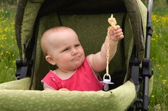 Generosidade das crianças. Foto de Stock