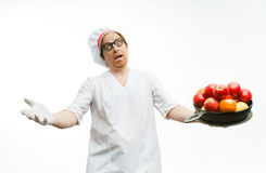 Generous chef Royalty Free Stock Photos