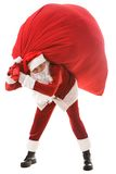 Generous Santa Royalty Free Stock Photos