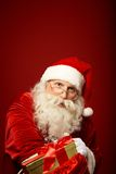 Generous Santa Claus Stock Image