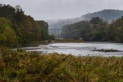 Genesee-Fluss, New York Lizenzfreies Stockbild