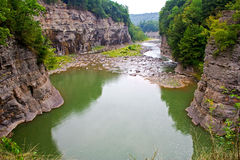 Genesee River Royalty Free Stock Photography