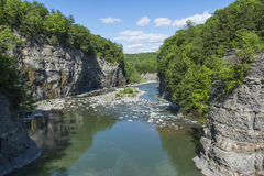 The Genesee River Valley At Letchworth State Park Royalty Free Stock Image