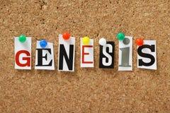 Genesi Immagini Stock