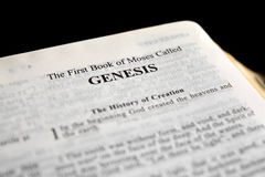 Genesis Royalty Free Stock Images