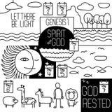 Genesis one. Stock Image