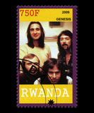 Genesis Postage Stamp du Rwanda Images stock